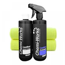 Professional Leather cleaner 500ml and conditioner 500ml - Car Valeting