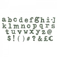 Sizzix Bigz XL Die - Alterations Tim Holtz TYPO LOWERCASE ALPHABET 661176