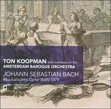 TON KOOPMAN - Bach: Musikalisches Opfer, BWV 1079 CD * BRAND NEW/STILL SEALED *