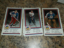 1983-84 VICTORIA COUGARS JACK MACKEIGAN WHL PLAYER CARD