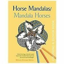 Horse Mandalas / Mandala Horses : Coloring and Design Book by Miriam Nieuwe...