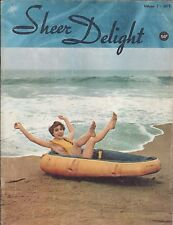 Elmer Batters Magazine Sheer Delight #1 Foot fetish