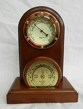 Philip Ross Weather Forecaster / Desktop Barometer Set - BNIB
