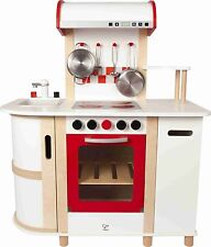 Hape E8018 Countertop Style Design Multi-Function Kitchen For Kids New