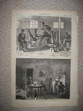 ANTIQUE 1872 KU KLUX KLAN BLACK AMERICANA RECONSTRUCTION ERA SOUTH PRINT RACISM