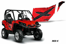 AMR Racing Can-Am Commander/Mave UTV Door Graphics Wrap for CanAm OEM Doors 2 RX