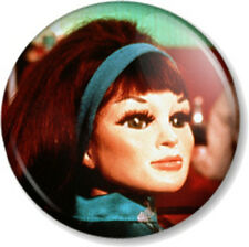 "Tin-Tin Kyrano Thunderbirds 1"" Pin Button Badge Tracy Island Character Puppet"