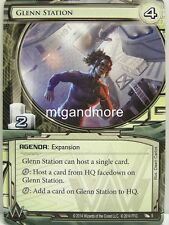 Android Netrunner LCG - 1x Glenn Station  #005 - Order and Chaos