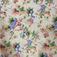 Faye Liverman Burgos Fruit Crackled Sparkly French Country Fabric Marcus Bro BTY