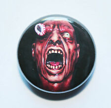 "1"" (25mm) Scary Eye Popping Horror Button Badge"