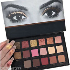New Rose Gold Textured Eyeshadow 18 Colors Matte Eye Shadow Palette Cosmetics #5