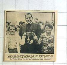 1963 The Vicar Of St Just The Rev Fw Barrie With Philip Treglown,Michael Thomas