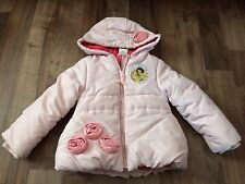Disney Princess Pink Puff Jacket Girls Size 4 4T
