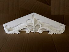 ***** SILICONE RUBBER MOULD LARGE ORNATE FLEUR DE LIS DOUBLE SCROLL *****
