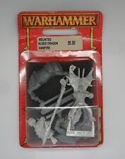 Warhammer Fantasy Vampire Counts MOUNTED BLOOD DRAGON VAMPIRE 2 IN BLISTER 2000