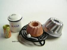 Re-ment Miniature #18 Kouglof cake mold baking powder