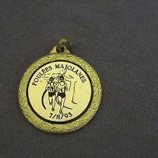 881B Médaille Laiton Sport Course à pied Cross Marathon Foulé Majolanes 1993