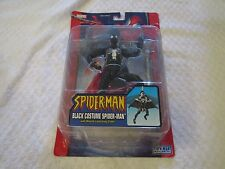 Toy Biz Marvel Spider-Man Classics Black Costume Missile Launching Glider