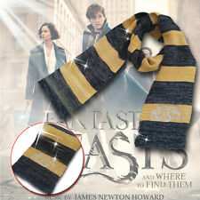1 PC Fantastic Beasts and Where to Find Them Cosplay Newt Scamander Scarf Warm