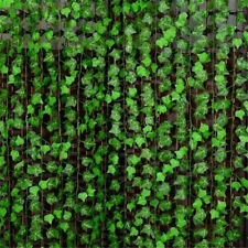 Vine Foliage Flowers Green Artificial Ivy Leaf Garland Plants Wedding Home Decor