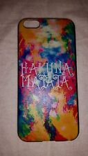 Hakuna Matata Multi-color Splash iPhone 5c Novelty Plastic Snap On Case