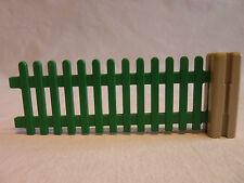 PLAYMOBIL accessoire maison ferme vintage enclos cloture barrière et jointure