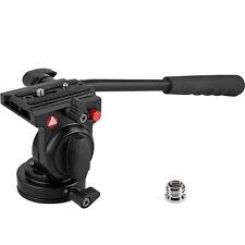 "KINGJOY KH-6750 Aluminum Camera Tripod Head Fluid w/ 1/4"" Thread for DSLR Camera"