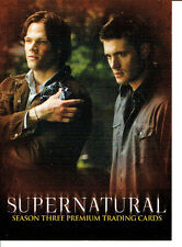SUPERNATURAL SEASON 3 TRADING CARDS PROMO CARD P-UK