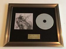 SIGNED/AUTOGRAPHED YOUNG THE GIANT - MIND OVER MATTER FRAMED CD PRESENTATION