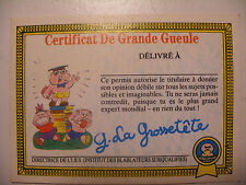 album PANINI MERLIN Les CRADOS Dos de Vignette Immage Back Garbage Pail Kids