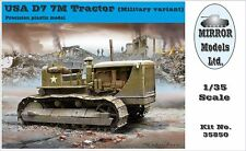 Mirror Models 1/35 USA Military D7 7M Tractor