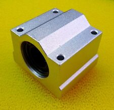 2 PCS SCS25UU (25mm) Metal Linear Ball Bearing Pellow Block Unit FOR CNC SC25UU