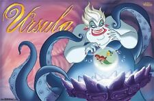 DISNEY VILLAINS - URSULA - 22x34 LITTLE MERMAID 14198