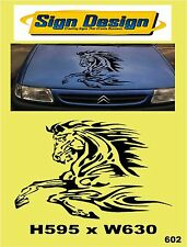 LEAPING HORSE FIT CAR VAN MOTORHOME CARAVAN SIGNS GRAPHICS DECALS STICKER 602