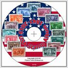 USA Stamp Album Pages on CD 1847-2015 - FREE Postage