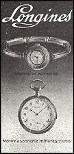 Publicité Montre LONGINES  Montres Watch  vintage print ad  1913  - 4h