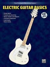 Ultimate Beginner Electric Guitar Basics Steps One & Two Book & CD by K Wyatt