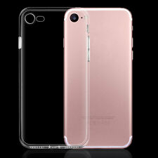 0.2mm Crystal Clear Soft Silicone Dustplug Case Cover Skin for iPhone 6s 7 Plus