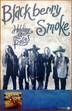BLACKBERRY SMOKE Holding All The Roses 2015 Ltd Ed RARE Poster +FREE Folk Poster