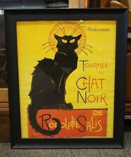 Leonetto Cappielo Tournee Du Chat Noir Advertisement Poster 1896 Repro Cat Art