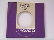 3- AVCO   RECORD COMPANY 45's SLEEVES  LOT # A-301