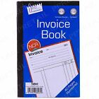 NCR FULL SIZE A5 INVOICE BOOK 1-40 Numbered Page Cash Receipt Pad Carbonless