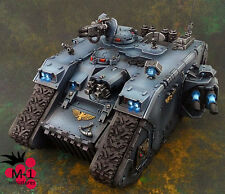 Warhammer 40k Space Wolves Land Raider  M-1 pro-painted
