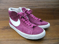 Nike Blazer Hi Top Pink Suede Trainers  Size 5 / 38.5