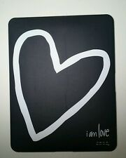 "iPad 2 Protective Hard Shell Case Cover - ""Peace Love World - I AM LOVE"""