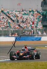 Neel Jani Hand Signed 12x8 Photo Scuderia Toro Rosso F1 7.