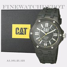Authentic Caterpillar Men's Navigo Black Dial Analog Quartz Watch A116121121