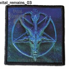 VITAL REMAINS MORGOTH PATCH different patterns Buy 5 patches - get 1 patch free