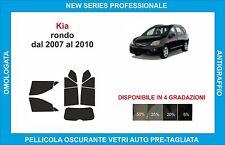 pellicole oscuranti vetri kia rondo dal 2007-2010 kit completo