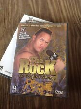 WWF WWE THE ROCK THE PEOPLES CHAMP (DVD2000,1-Disc Set)scratch Free Authentic US